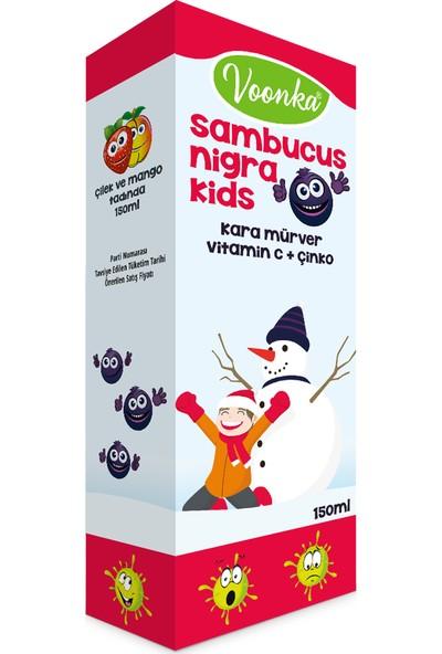 Voonka Sambucus Nigra Kids Şurup 150ml