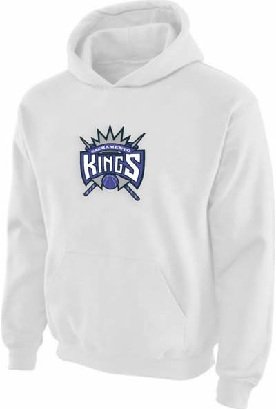 Sacramento Kings Kapüşonlu Sweatshirt