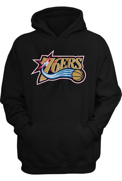 Philadelphia 76ers Kapüşonlu Sweatshirt