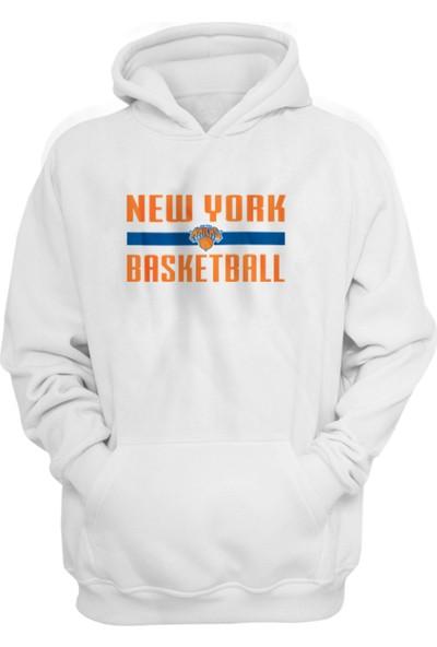 New York Knicks Kapüşonlu Sweatshirt
