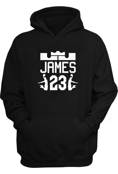 LA Lakers Lebron James Kapüşonlu Sweatshirt