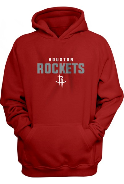 Houston Rockets Kapüşonlu Sweatshirt