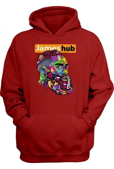 Houston Rockets James Harden James Hub Kapüşonlu Sweatshirt