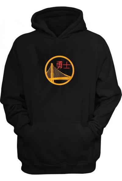 Golden State Warriors Kapüşonlu Sweatshirt