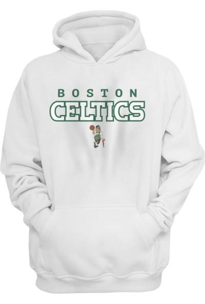 Boston Celtics Kapüşonlu Sweatshirt