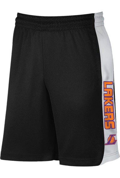 Nsj Sportive LA Lakers Siyah Şort