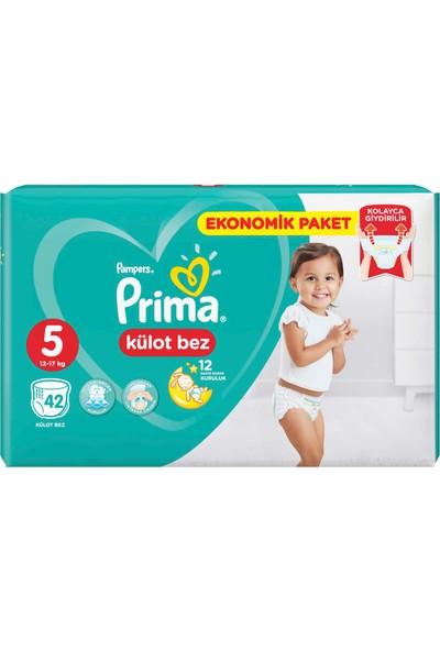 Prima Külot Bebek Bezi 5 Beden 42 Adet Junior Ekonomik Paket