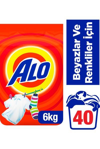 Alo 6 kg Toz Çamaşır Deterjanı Beyazlar ve Renkliler İçin