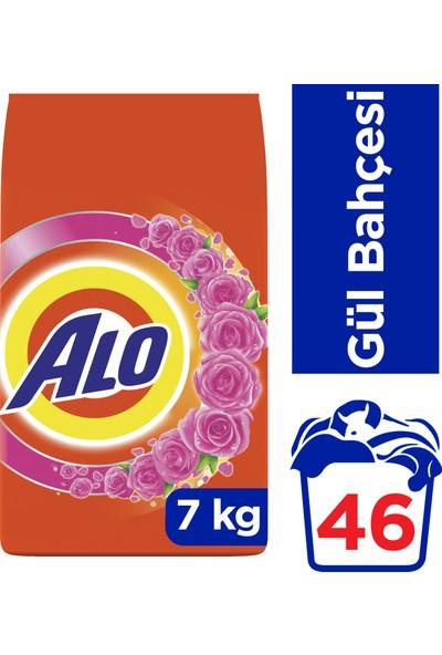 Alo 7 kg Toz Çamaşır Deterjanı Beyazlar ve Renkliler İçin Gül Bahçesi