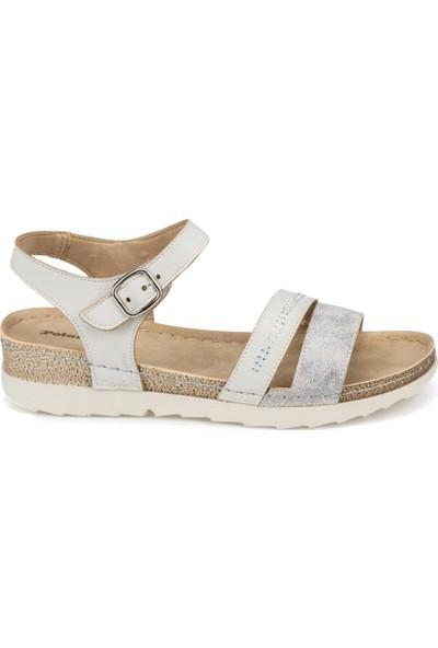 Polaris 91.150794.Z Mavi Kadın Sandalet