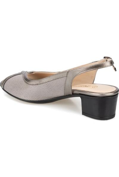 Polaris 91.150802.Z Gri Kadın Sandalet