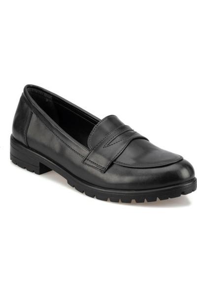 Polaris 92.309131Cz Siyah Kadın Loafer Ayakkabı