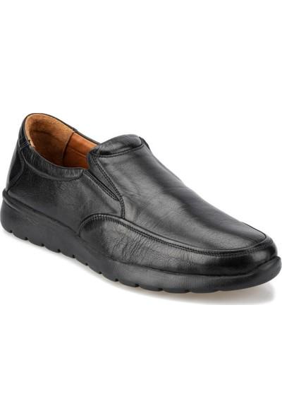 Polaris 5 Nokta 92.100902.M Siyah Erkek Ayakkabı
