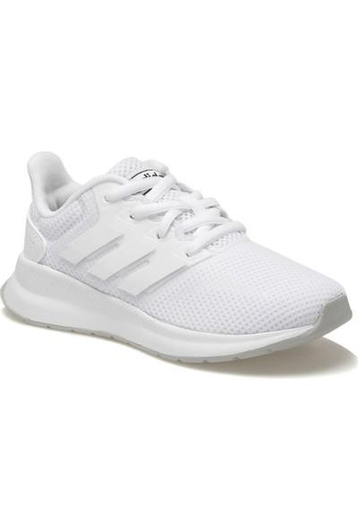 Adidas Runfalcon K Beyaz Unisex Çocuk Koşu Ayakkabısı