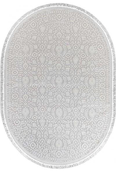 Türkmen Halı Anatolia 6005 Beyaz Oval