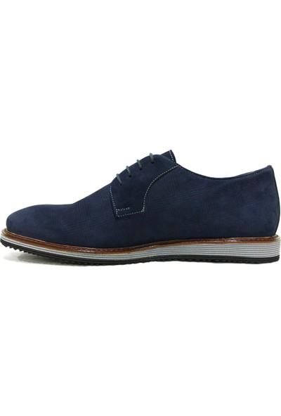Dropland 5288 Lacivert Bağcıklı Casual Erkek Ayakkabı