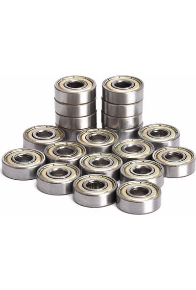 Dünya Magnet Rulman 30'lu 607ZZ Metal Mühürlü 7 x 19 x 6 mm