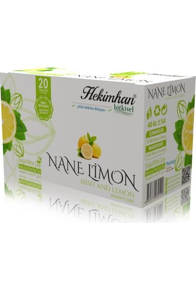 Hekimhan Bitkisel Nane Limon Çay 20 Li