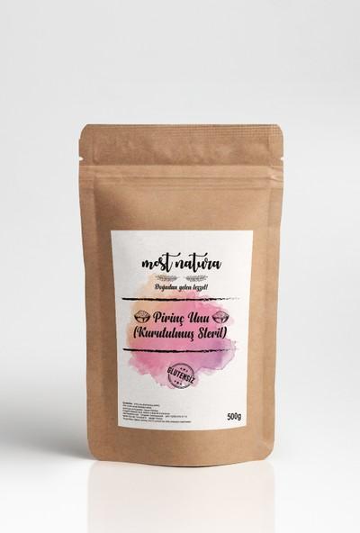 Most Natura Glutensiz Pirinç Unu (Kurutulmuş Steril) 500 gr