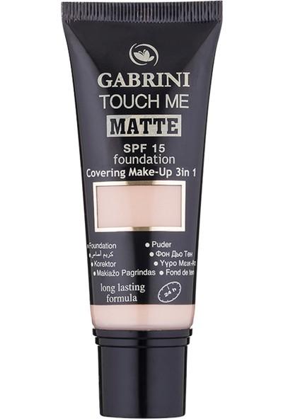 Gabrini Matte Foundation 01