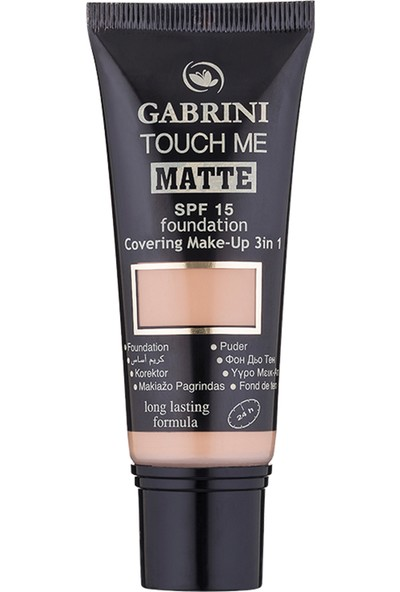 Gabrini Matte Foundation 03