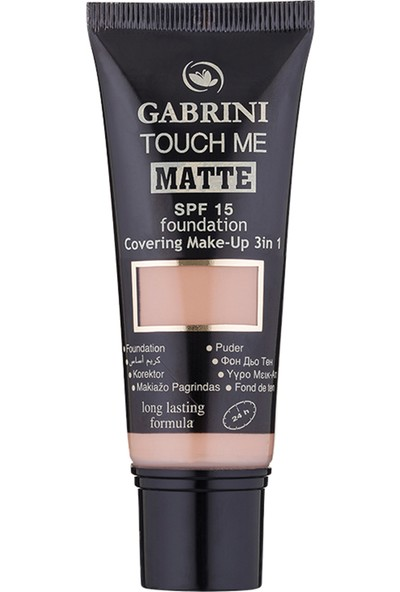 Gabrini Matte Foundation 04