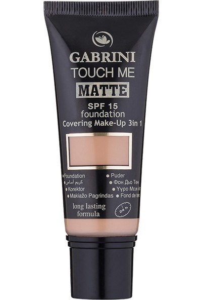 Gabrini Matte Foundation 05