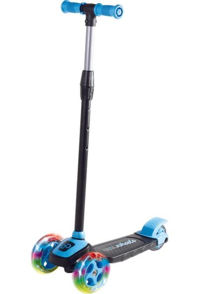 Cool Wheels Twist Led Işıklı 3 Tekerlekli Yükseklik Ayarlı Scooter - Mavi