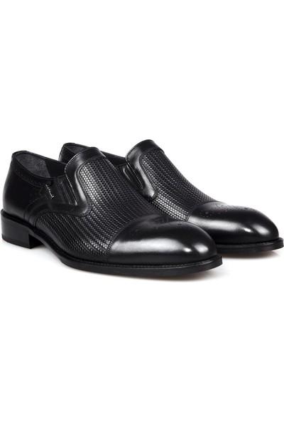 Cacharel 181-2 Siyah Erkek Ayakkabı