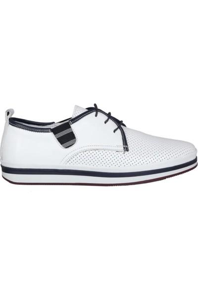 Komcero 191-65 Beyaz Erkek Ayakkabı