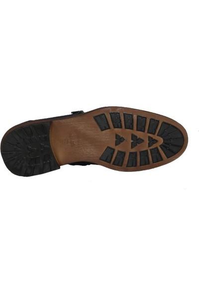 Kıng West 191-51 Laci Nubuk Erkek Ayakkabı