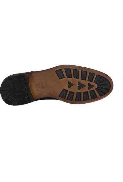 Kıng West 191-52 Laci Nubuk Erkek Ayakkabı