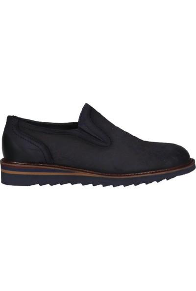 Kıng West 191-55 Laci Nubuk Erkek Ayakkabı