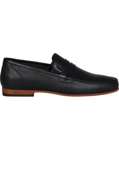 Kıng West 191-56 Siyah Erkek Ayakkabı