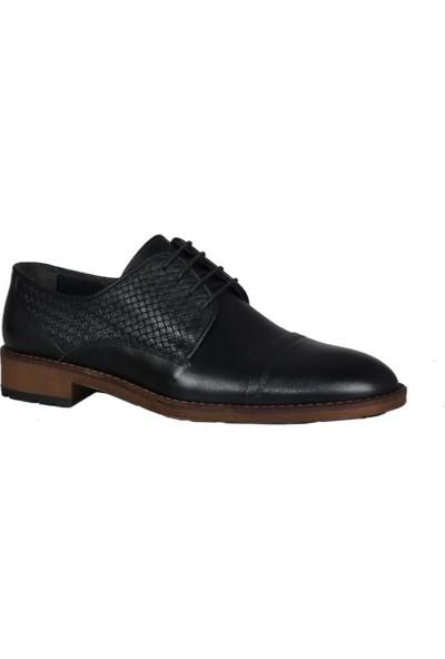 Kıng West 191-57 Siyah Erkek Ayakkabı
