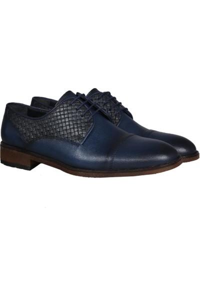 Kıng West 191-57 Mavi Erkek Ayakkabı