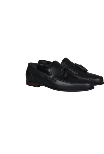 Kıng West 191-60 Siyah Erkek Ayakkabı