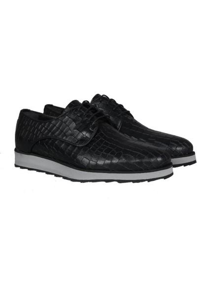 Kıng West 191-62 Siyah Erkek Ayakkabı