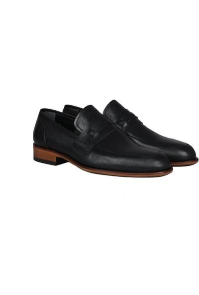 Kıng West 191-63 Siyah Erkek Ayakkabı