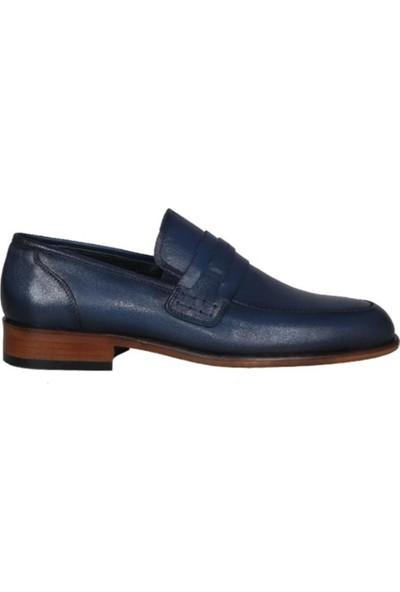 Kıng West 191-63 Lacivert Erkek Ayakkabı