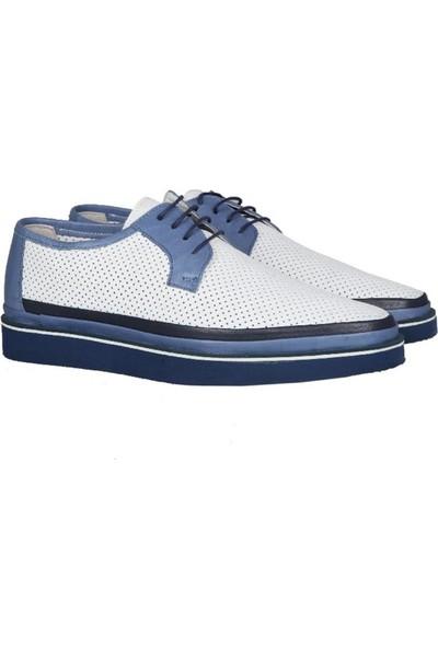 Kıng West 191-64 Beyaz Erkek Ayakkabı
