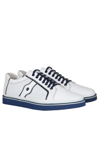 Kıng West 191-67 Beyaz Erkek Ayakkabı