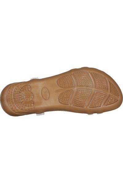 Guja 191-124 Beyaz Kadın Sandalet