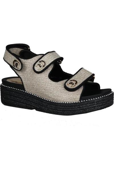 Guja 191-134 Gold Kadın Sandalet
