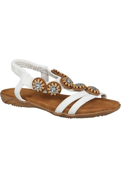 Guja 191-149 Beyaz Çocuk Sandalet