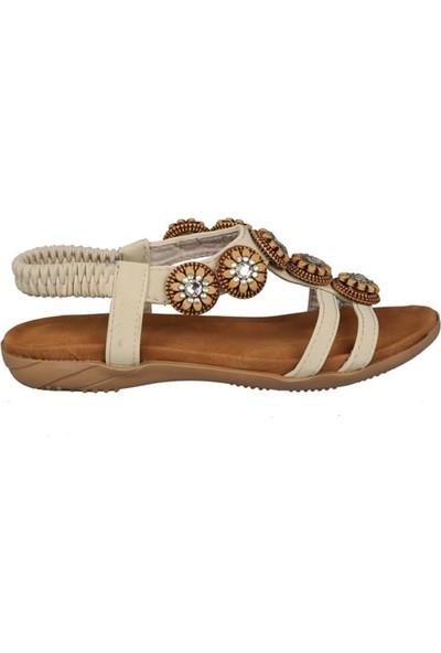 Guja 191-149 Bej Çocuk Sandalet