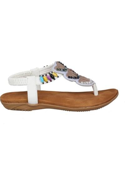 Guja 191-150 Beyaz Çocuk Sandalet