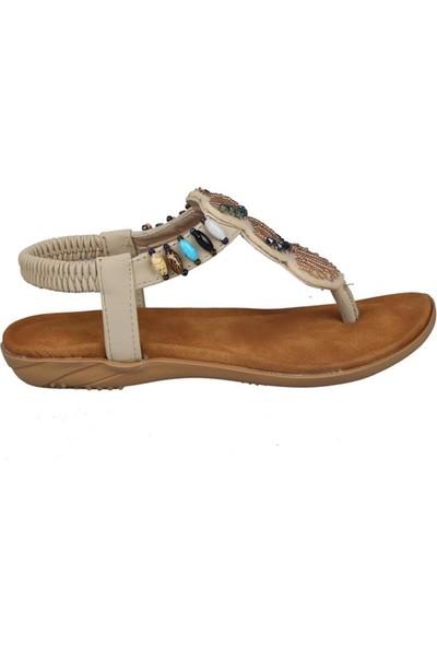 Guja 191-150 Bej Çocuk Sandalet