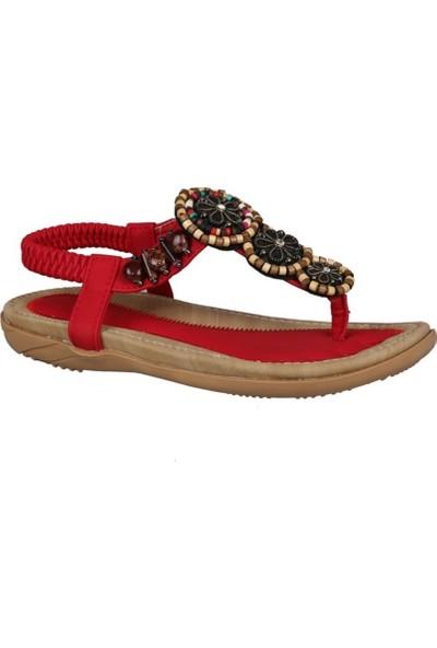 Guja 191-151 Kırmızı Çocuk Sandalet