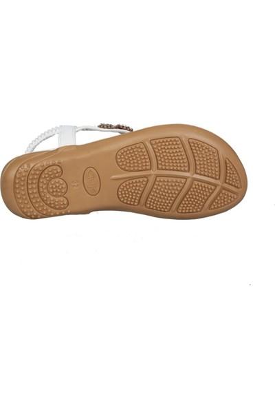 Guja 191-153 Beyaz Çocuk Sandalet